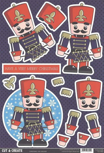 Toy Soldier CC-CT052 Cut and Create (Pack of 2)