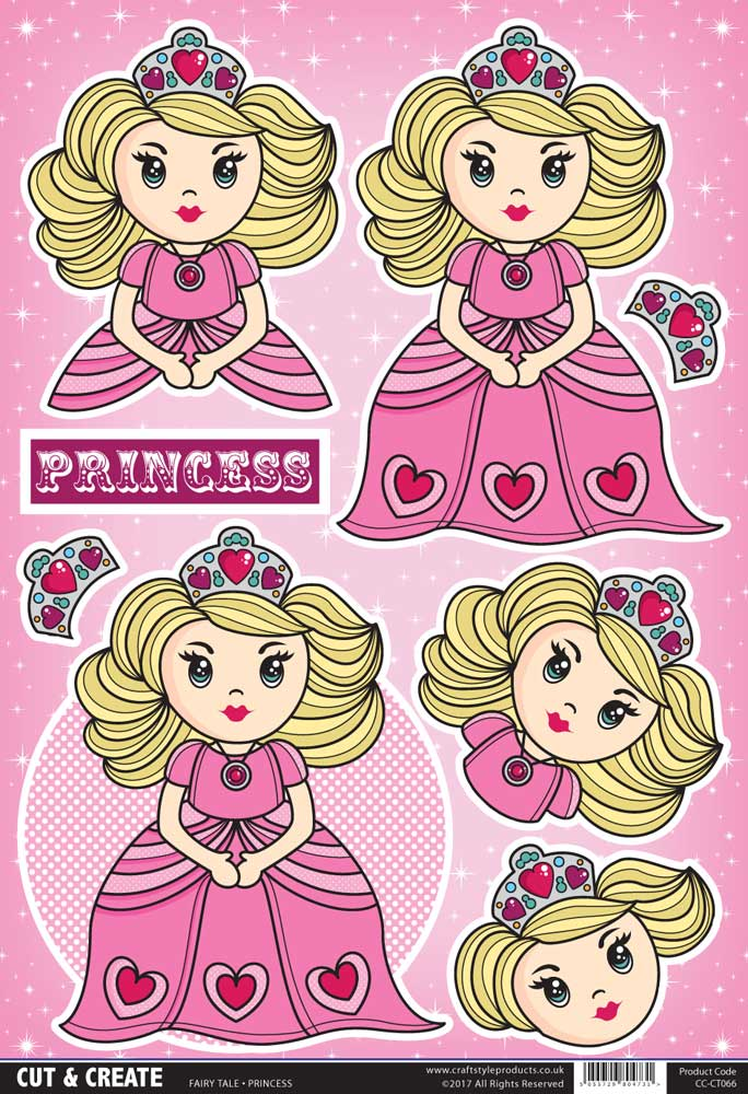 Princess Topper ( Pack of 2 )