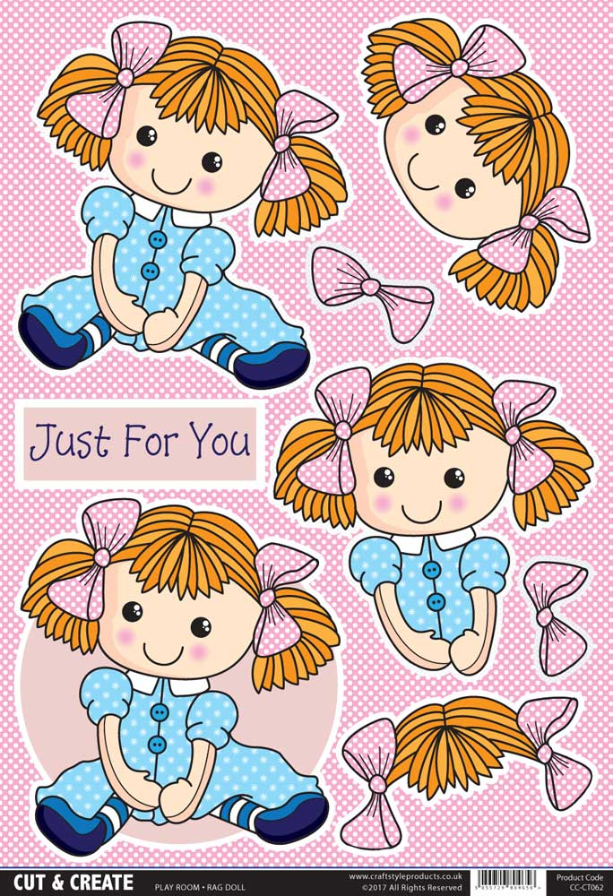 Tag Doll ( Pack of 2 )