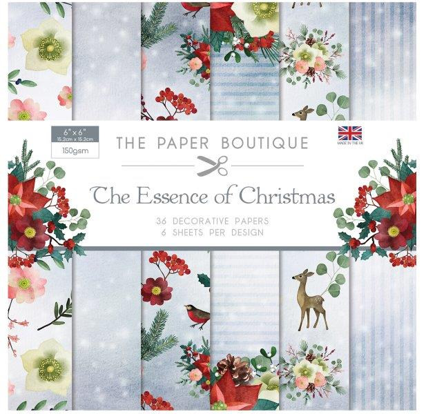 Essence of Christmas 36 pages 6″x 6″ 6 sheets per design