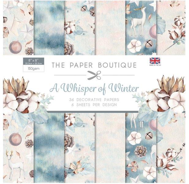 Whisper of Winter 36 Pages 8″x8″ 6 sheets per design