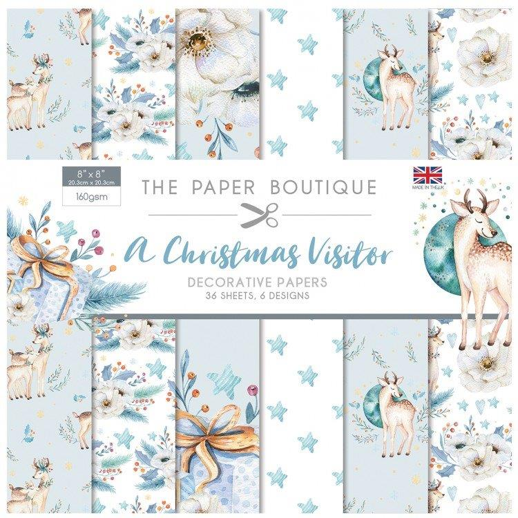 A Christmas Visitor 36 Pages 8″x8″ 6 pages per design