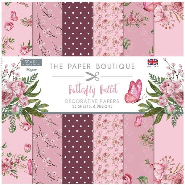Butterfly Ballet 36 Pages 8″x8″ 6 pages per design
