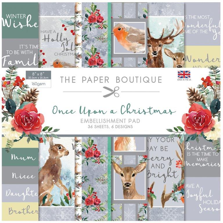 Once Upon A Christmas 36 Pages 6″x6″ 6 sheets per design