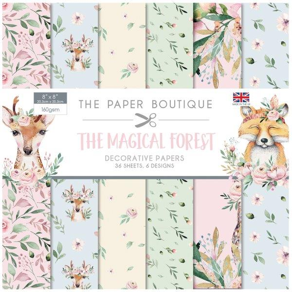 The Magical Forest 36 Pages 8″x8″ 6 pages per design