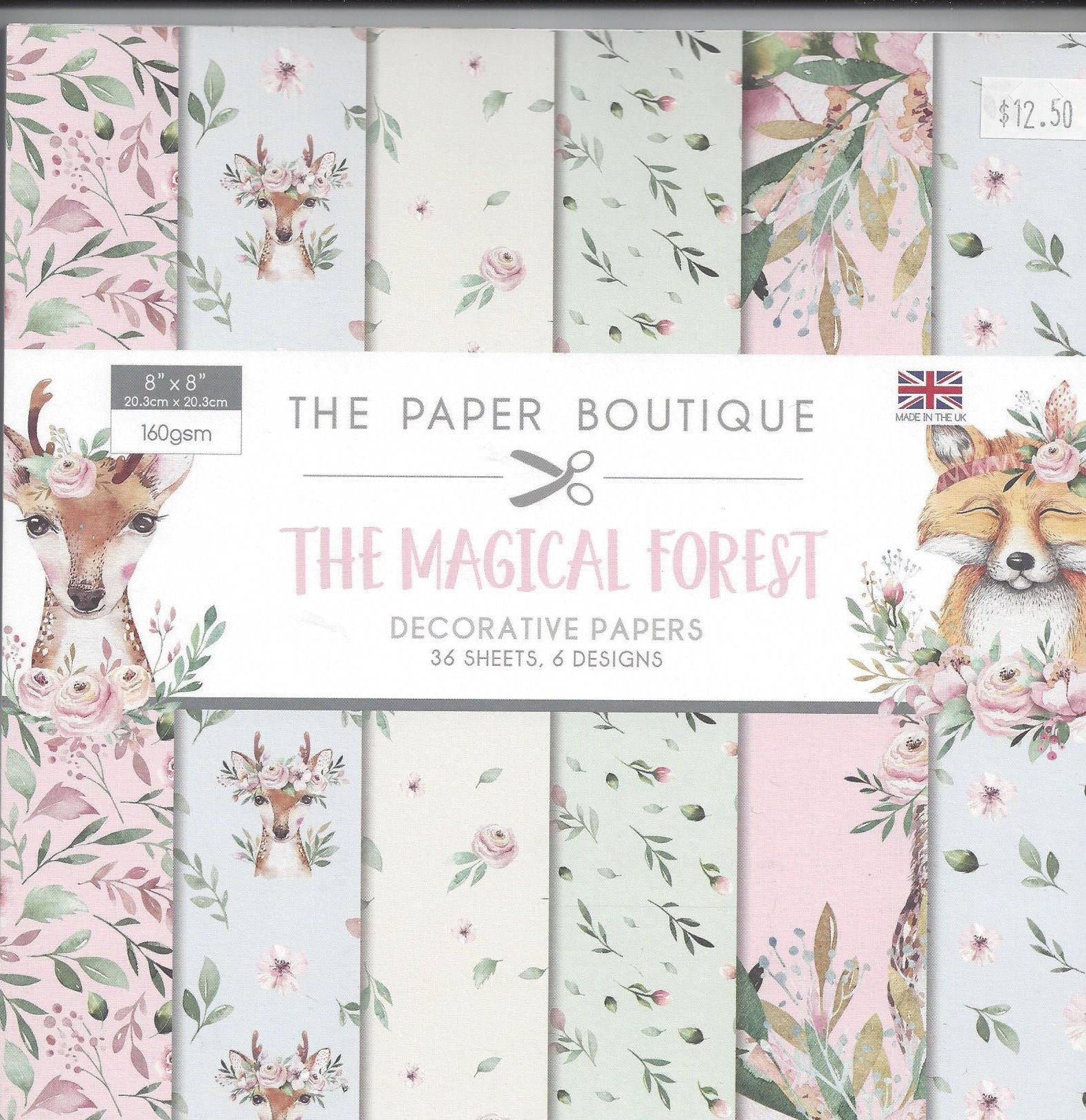 The Magical Forest 36 Pages 8″ x 8″ 6 Pages per Design