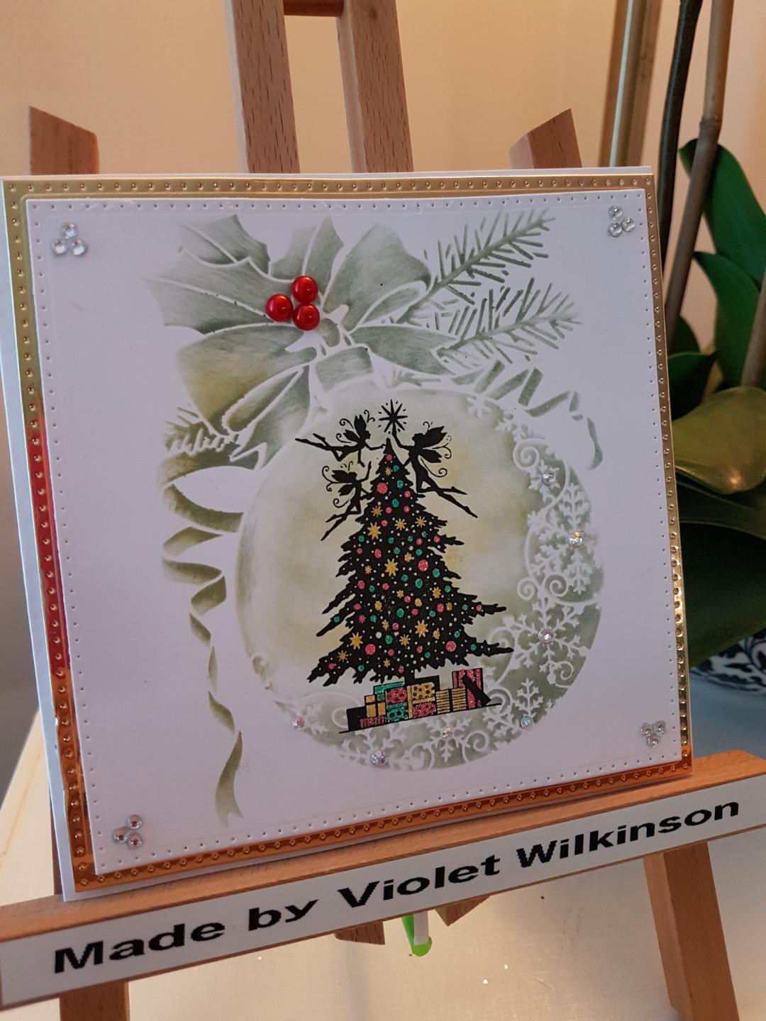 Christmas by Violet Wilkinson